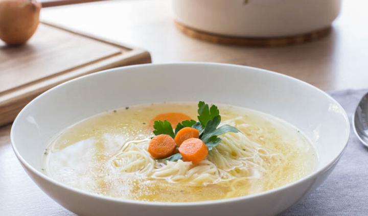Rosół jedno z najbardziej znanych dań kuchni polskiej